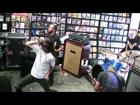 Trash Talk  LIVE  @  Rasputin Music in Berkeley, CA 6/27/10