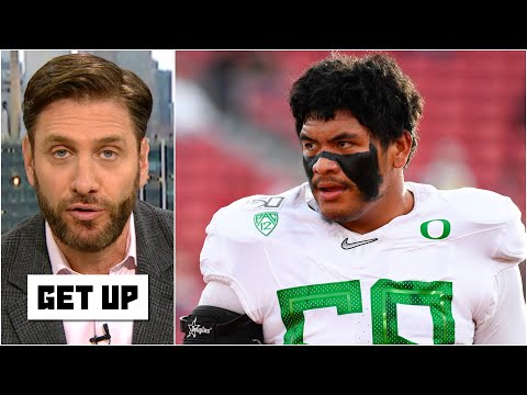Elite OLs should be prioritized over elite WRs in 2021 NFL Draft - Mike Greenberg | Get Up