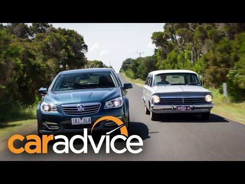 Fifty years of Holden Wagons - 2014 VF Calais Sportwagon vs 1964 EH Special Wagon