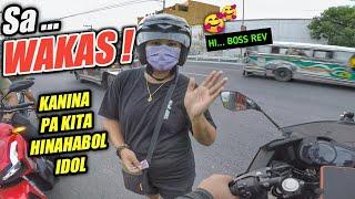 Kawasaki Ninja 400 // MALAKING GULONG // Hinahabol pala ako ng Babae