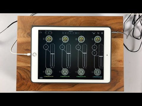 Elastic Drums Update - With IAA Channel Routing - Demo & Tutorial for the iPad