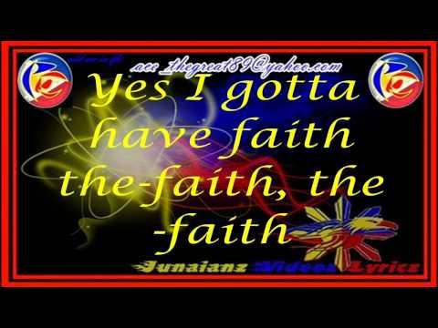 The Kitchen Musical (Faith) - Lyrics - Christian Bautista