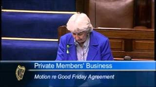 14 May Good Friday Agreement Motion