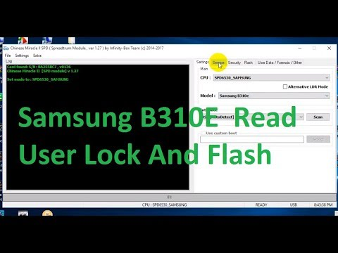 Samsung B310E Read Code And Flash Use Cm2 Dongle - Computer