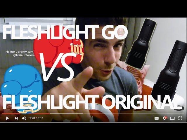 FLESHLIGHT GO SURGE vs FLESHLIGHT ORIGINAL : Les différences
