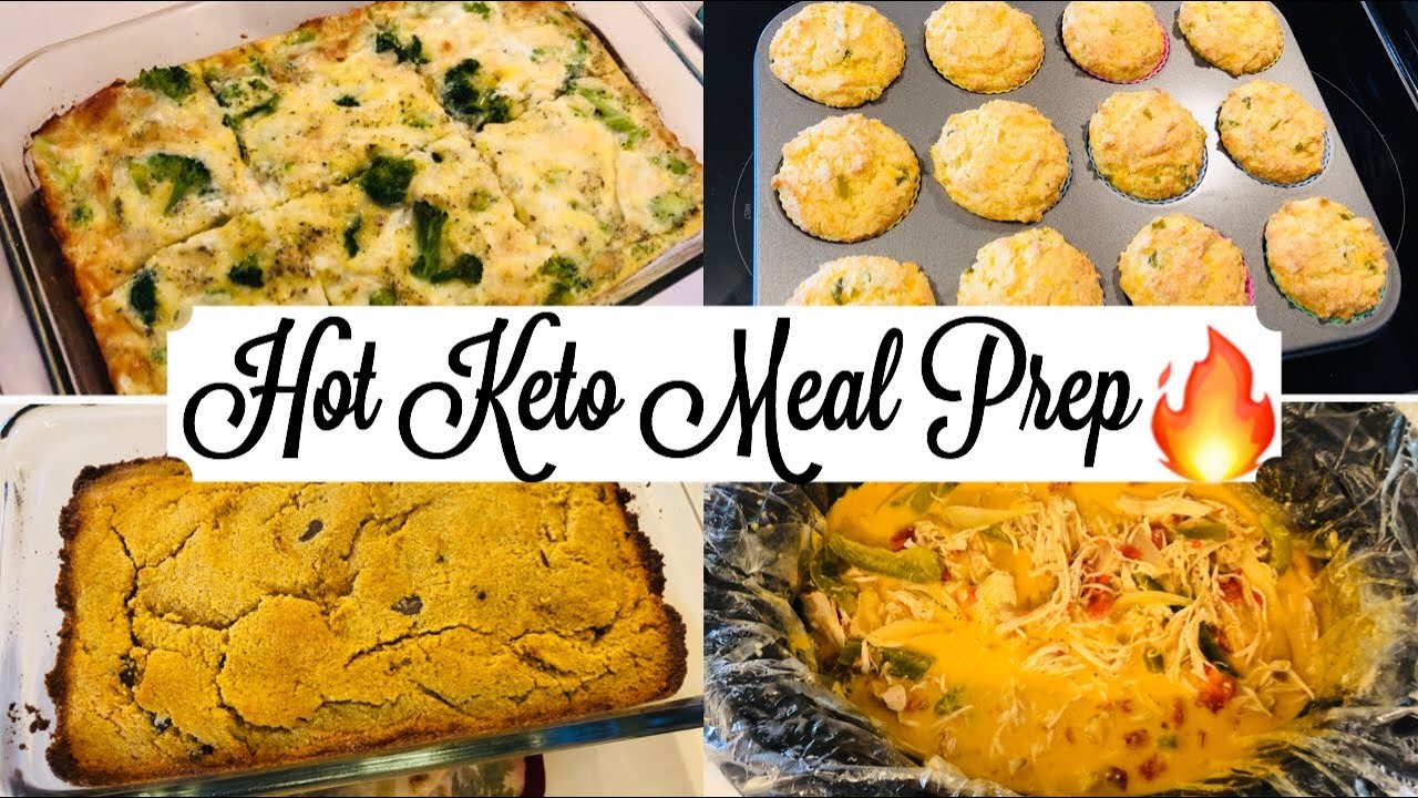 Best Meal Prep /Batch Cooking | So Many New Recipes | Keto / Low Carb