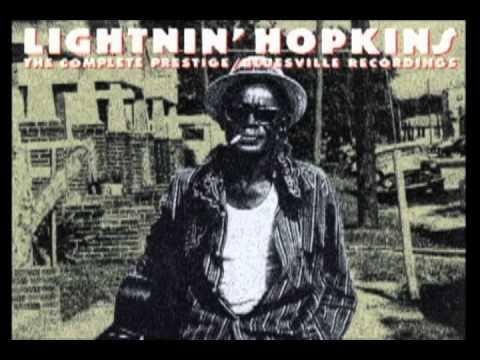 Rainy Day Blues By Lightnin Hopkins