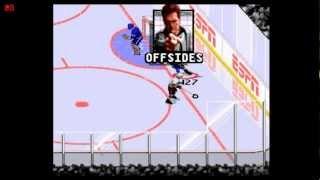 Let's Play ESPN National Hockey Night (SNES)