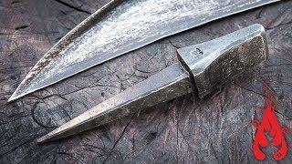 Blacksmithing - Forging a scythe peening anvil