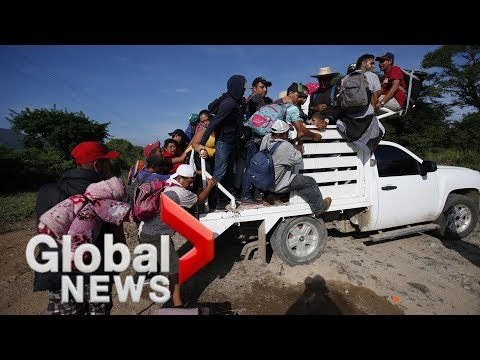 Pentagon gives briefing on response to migrant caravan