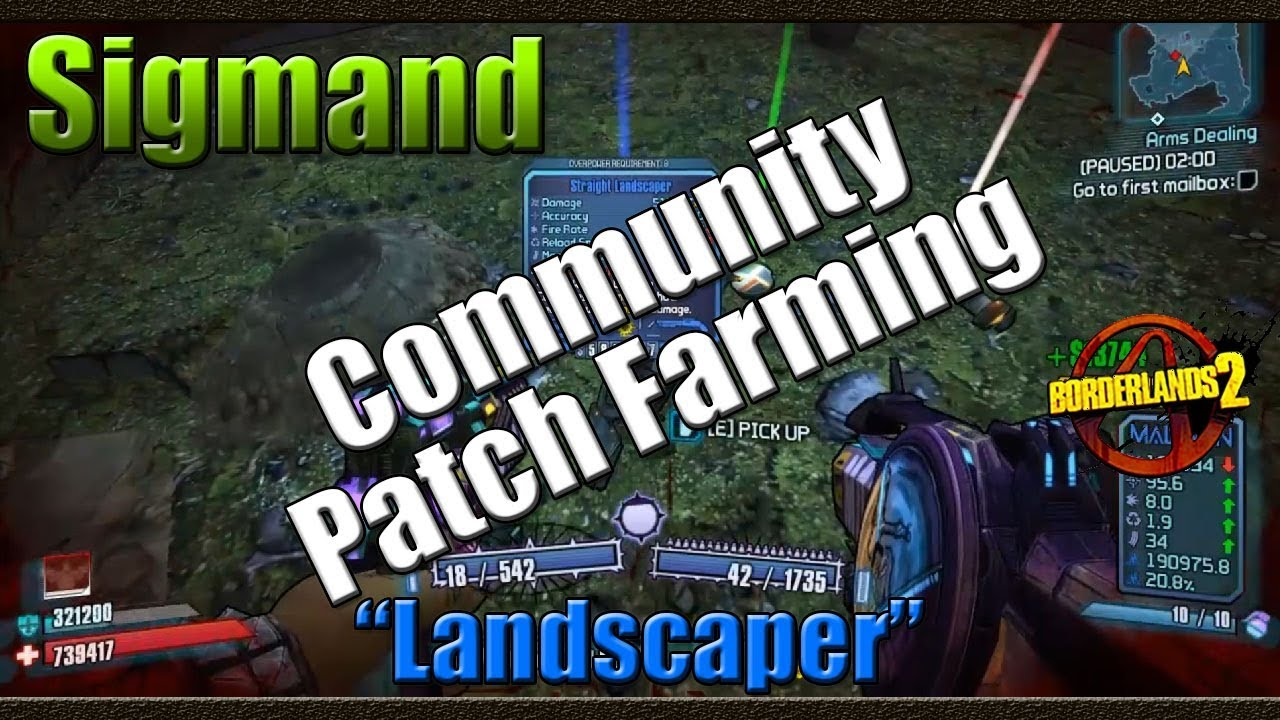 Borderlands 2 | Farming Sigmand for the Landscaper ... Borderlands 2 Community Patch