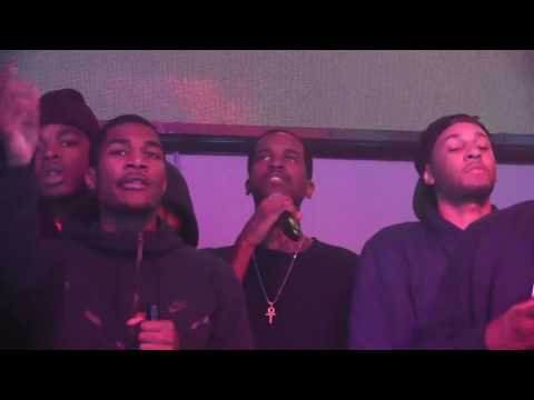Lil Reese gets into a heated argument on stage @Vlive