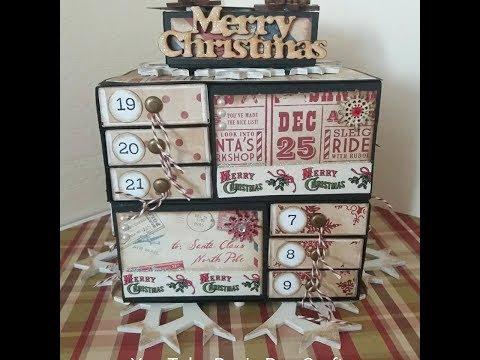 DIY Advent Calendar | Roxie Roo Crafts Tutorial.