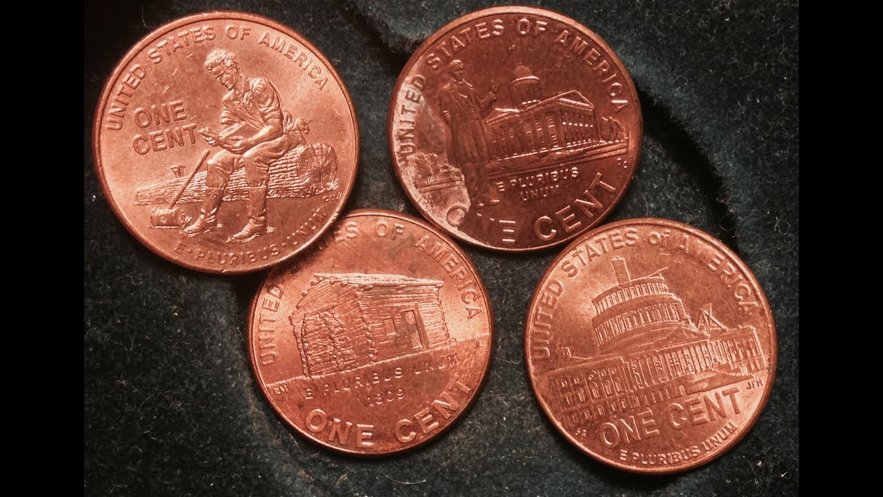 2009-D /& P 10 Rolls Formative Years  Lincoln Penny NEW