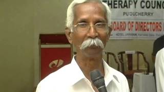 Dr.Ramakrishnan Speech About Indian Natural Therapy Council ( INTC )