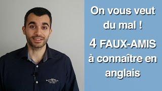 4 faux-amis à connaître absolument en anglais (surtout si le français est votre langue maternelle) !