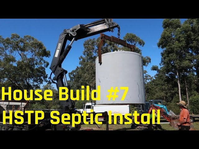 House Build # 7 - HSTP Septic Install