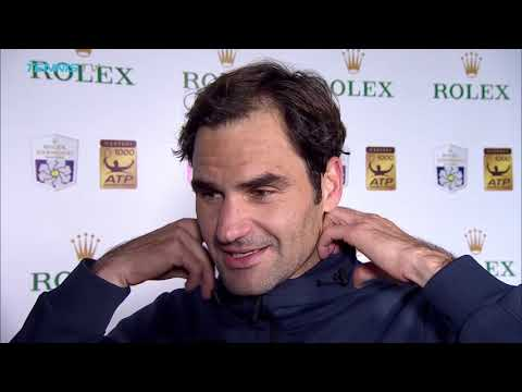 Federer: Bautista Agut 'Caught Fire' In The Second Set In Shanghai 2018