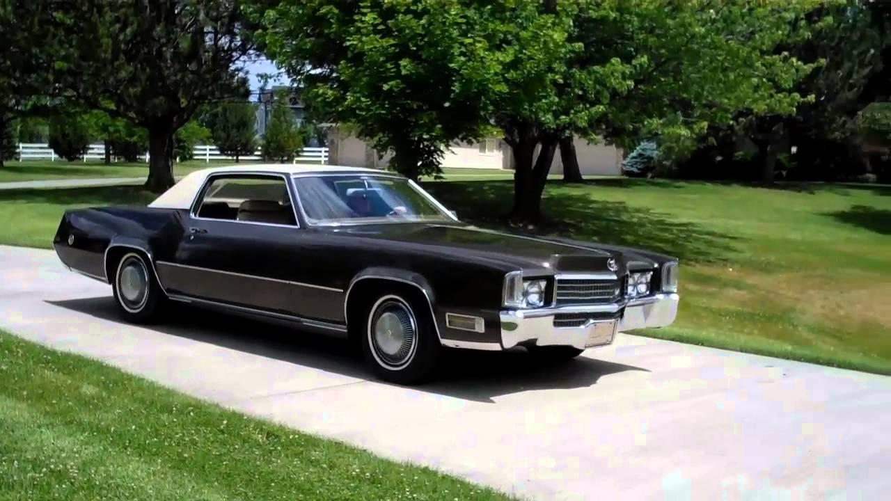 1970 cadillac eldorado one owner 42 321 miles