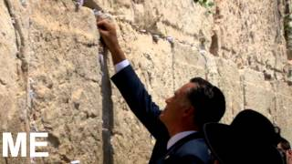 US candidate Mitt Romney visits the Western Wall