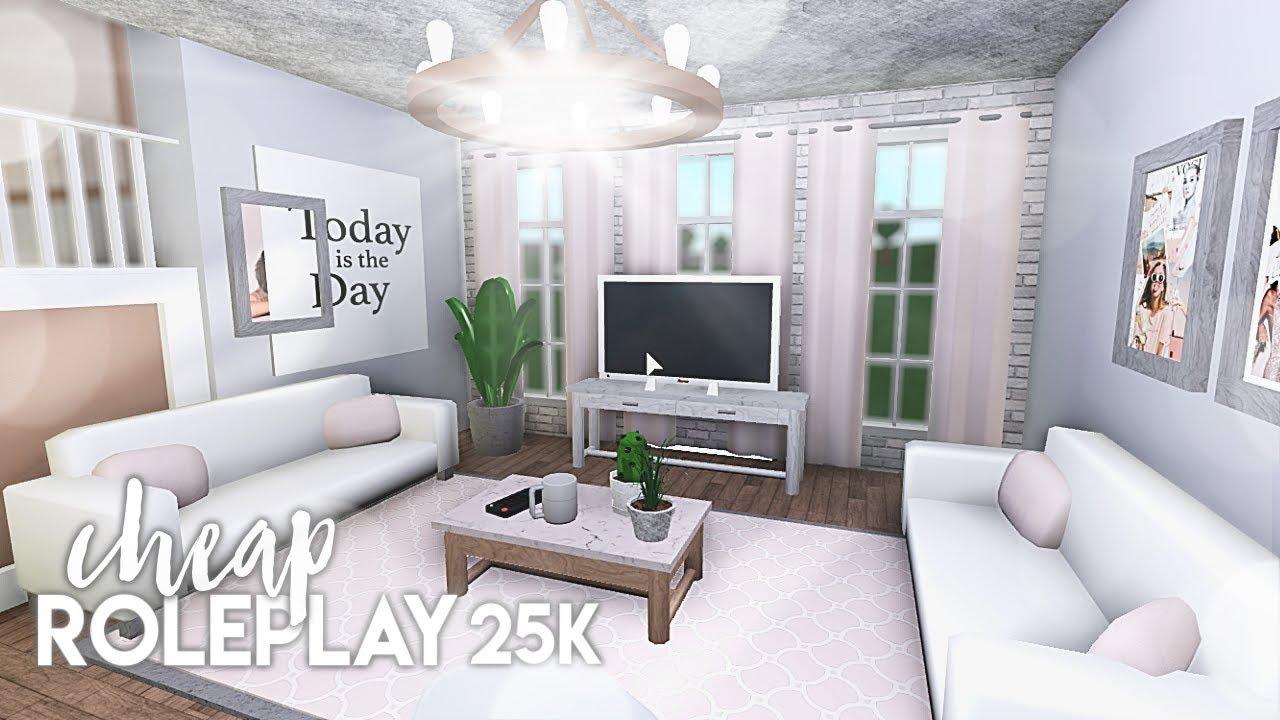 Roblox Bloxburg Cheap Roleplay Home 25k Youtube