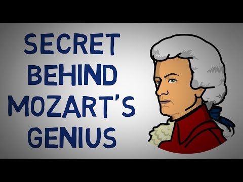 Explaining Child Prodigies - The Secret Behind Mozart's Genius (animated)