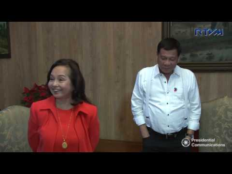 Meeting with Pampanga Representative Gloria Macapagal-Arroyo 11/28/2016
