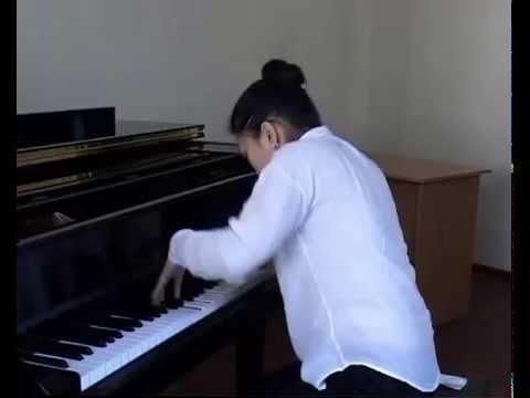 Umarova Shakhnoza Bach Fantasia cromatica&Fuga BWV 903 d moll
