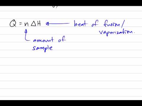 Calculating Phase Changes - YouTube