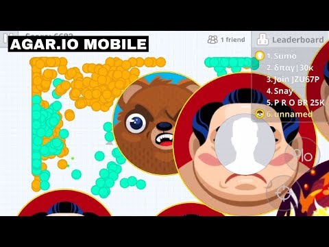 *RANDOM* PARTY REVENGE! (Agar.io Mobile Gameplay!) thumbnail