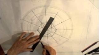 "Sacred Geometry - Seed Of Life To Create The ""templar Clock"""