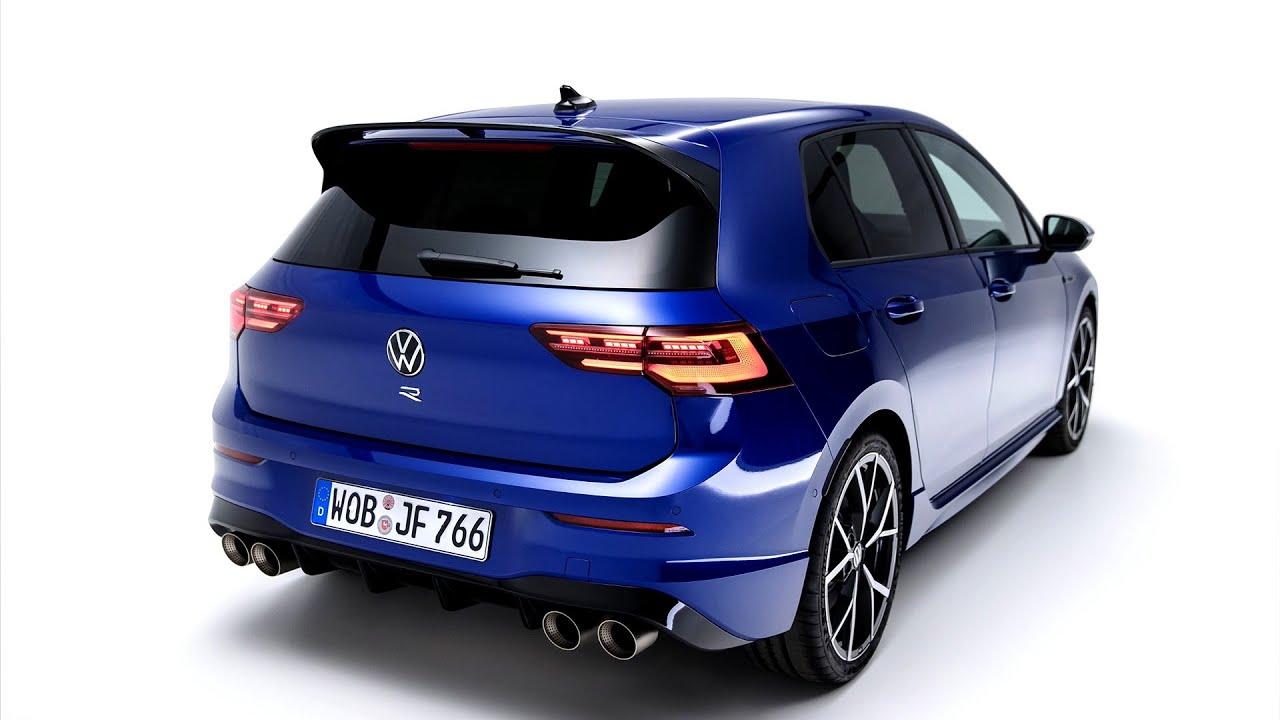New Volkswagen Golf 8 R 2021 First Look Exterior Interior Youtube