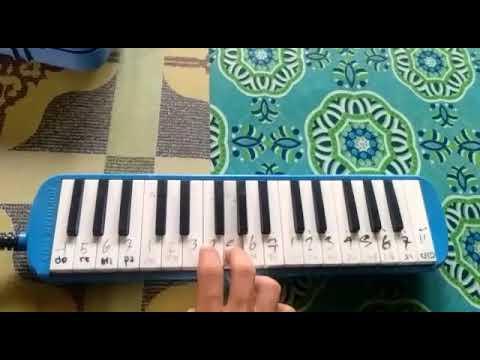 Tak Tun Tuang Pianika cover (Tutorial Melodi)