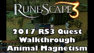 RS3 Quest Guide - Animal Magnetism - 2017(Up to Date!)