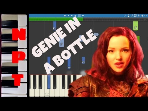 Dove Cameron - Genie In A Bottle - Piano Tutorial