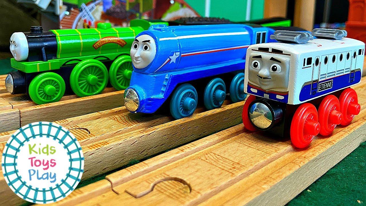 "Thomas the Train The Great Race ""The Shooting Star is Coming Through"" Parody"
