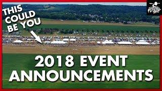 Event Announcements 2018 | FLITE TEST