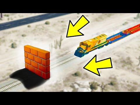 CAN A WALL STOP THE TRAIN IN GTA 5?