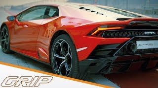 Abartig schnell und ultra laut! I Lamborghini Huracán EVO I GRIP