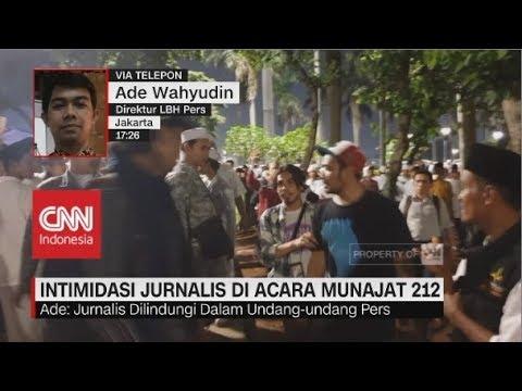 Intimidasi Jurnalis di Acara Munajat 212, Direktur LBH Pers: Jurnalis Dilindungi UU Pers