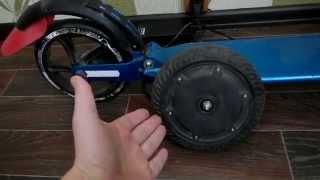 видео Плюсы самокатов с мотором