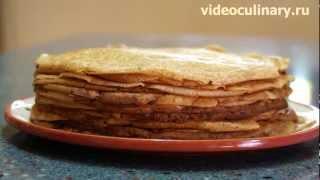 Блины на дрожжах (на опаре) - Рецепт Бабушки Эммы