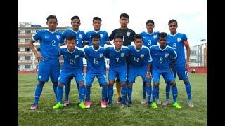 India u16  Vs Maldives u16  9-0 match highlights