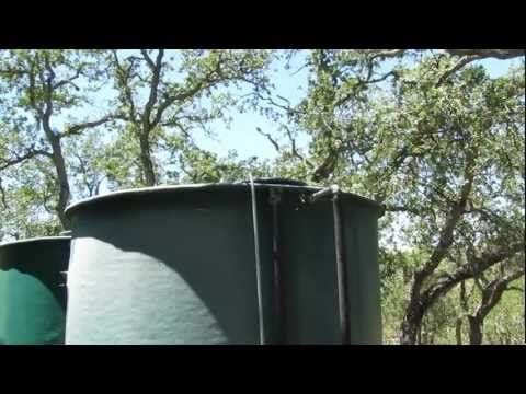 Off The Grid Solar Powered Water System Tour
