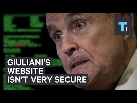 Security experts are tearing apart Rudy Giuliani