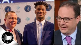 Adrian Wojnarowski on Jimmy Butler trade saga: 'Thibs won' | The Jump