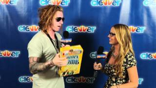 Travis Clark We The Kings Interview Talks ShayCarl, Charles Trippy and Warped Tour Snack Food!