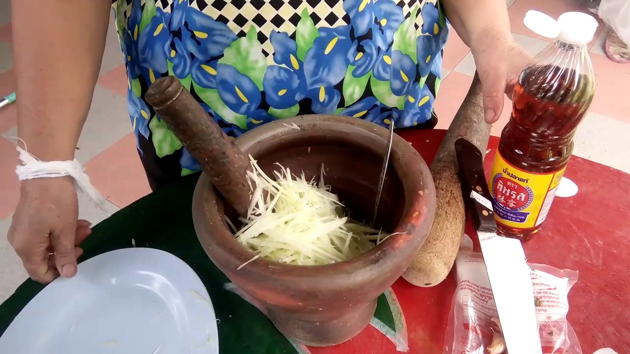 Papaya salad som tam laos recipes simple recipes delicious papaya salad som tam laos recipes simple recipes delicious traditional amazing food forumfinder Image collections