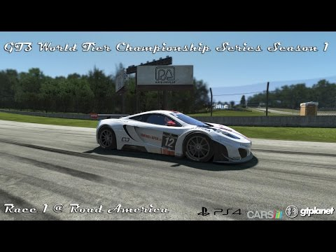 GT3 World Tier Championship Series Season 1 For PS4   Race 1 @ Road America   gtplanet.net