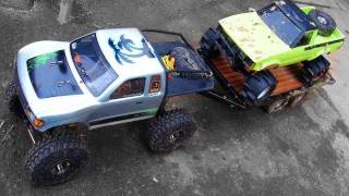 RC ADVENTURES - SCALE TRUCK 4X4 FUN at Rude Boyz